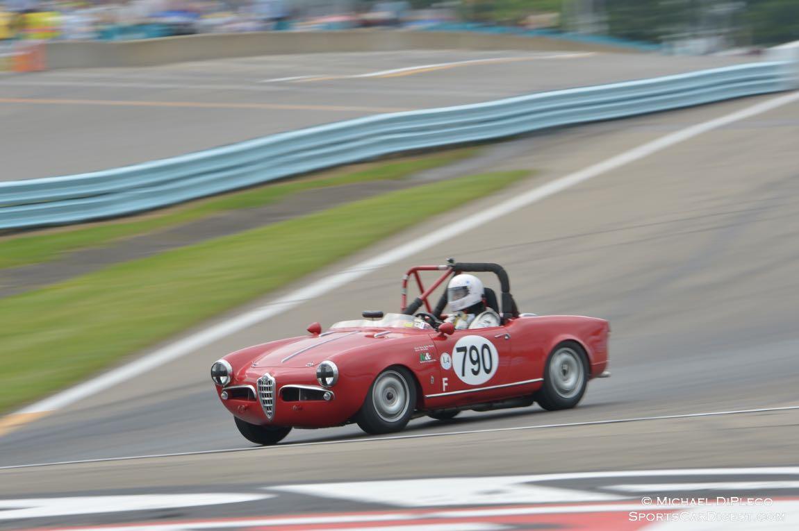 1957 Alfa Romeo Guilietta Spyder- B.John Feng.