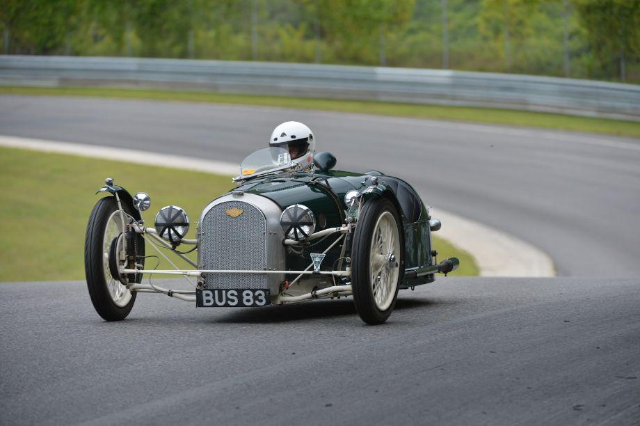 1938 Morgan F-Trike.