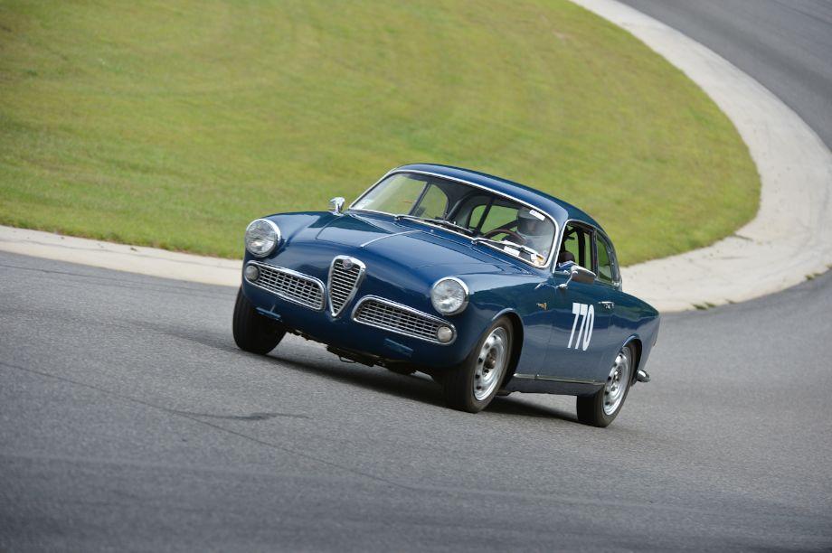 1959 Alfa Romeo Giulietta Sprint.