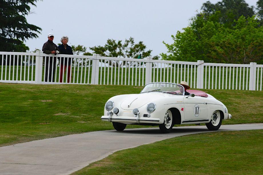 1955 Porsche 356 Speedster Super of George Kehler won the Porsche class