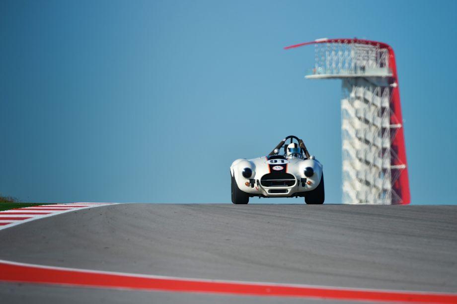 Cobra at SVRA's debut U.S. Vintage Racing National Championship at Circuit of the Americas (photo: Michael DiPleco)
