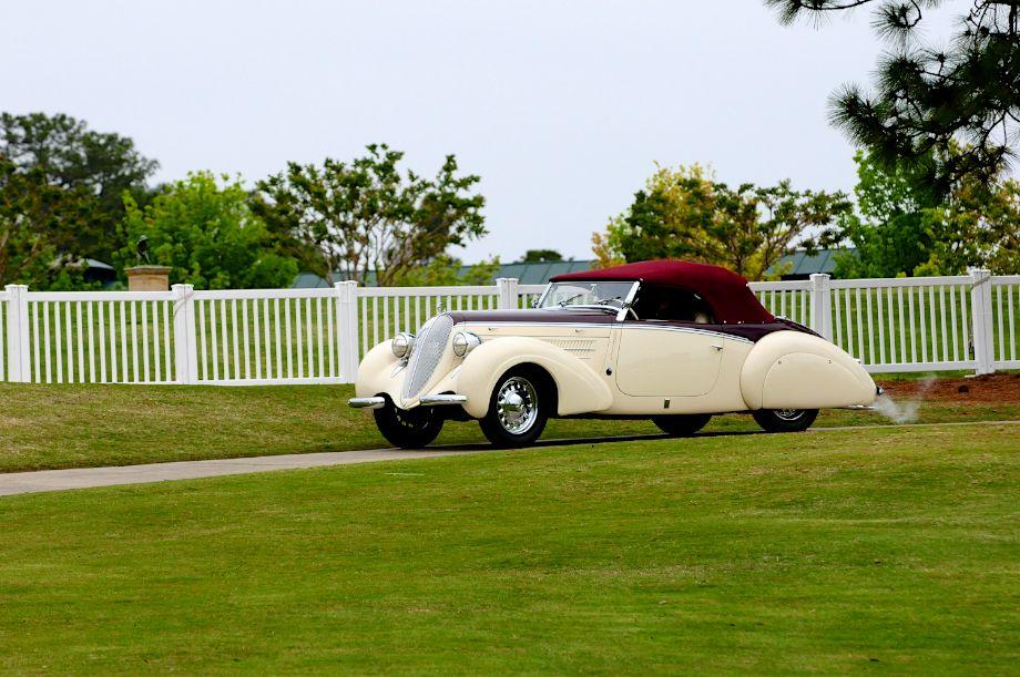Best of Show - 1938 Steyr 220 Glaser Roadster
