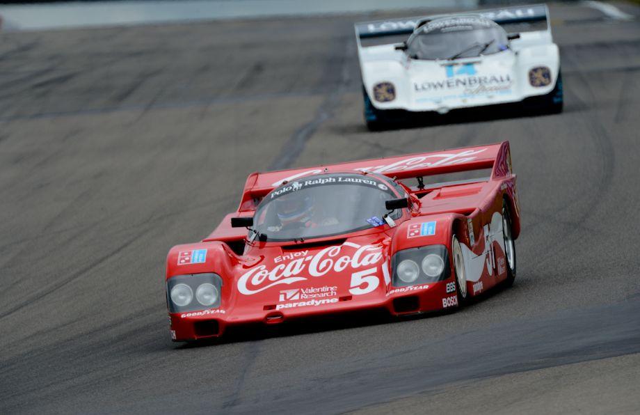 1984 Porsche 962- Lee Giannone. #14- 1985 Porsche 962- Dan Curry.