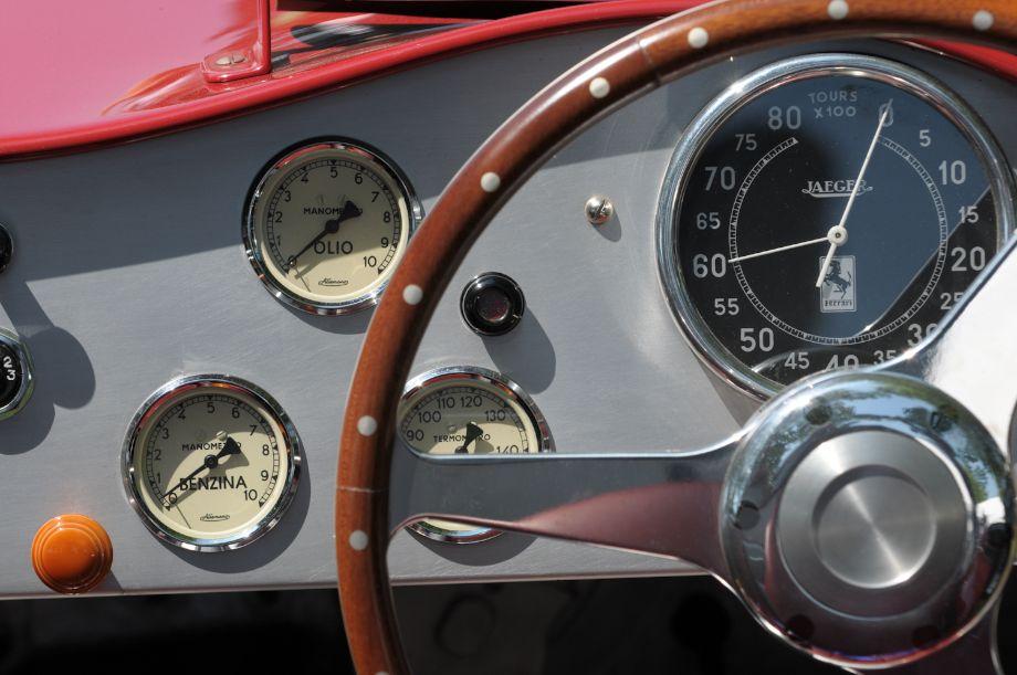 1947 Ferrari 159S Spider Corsa.