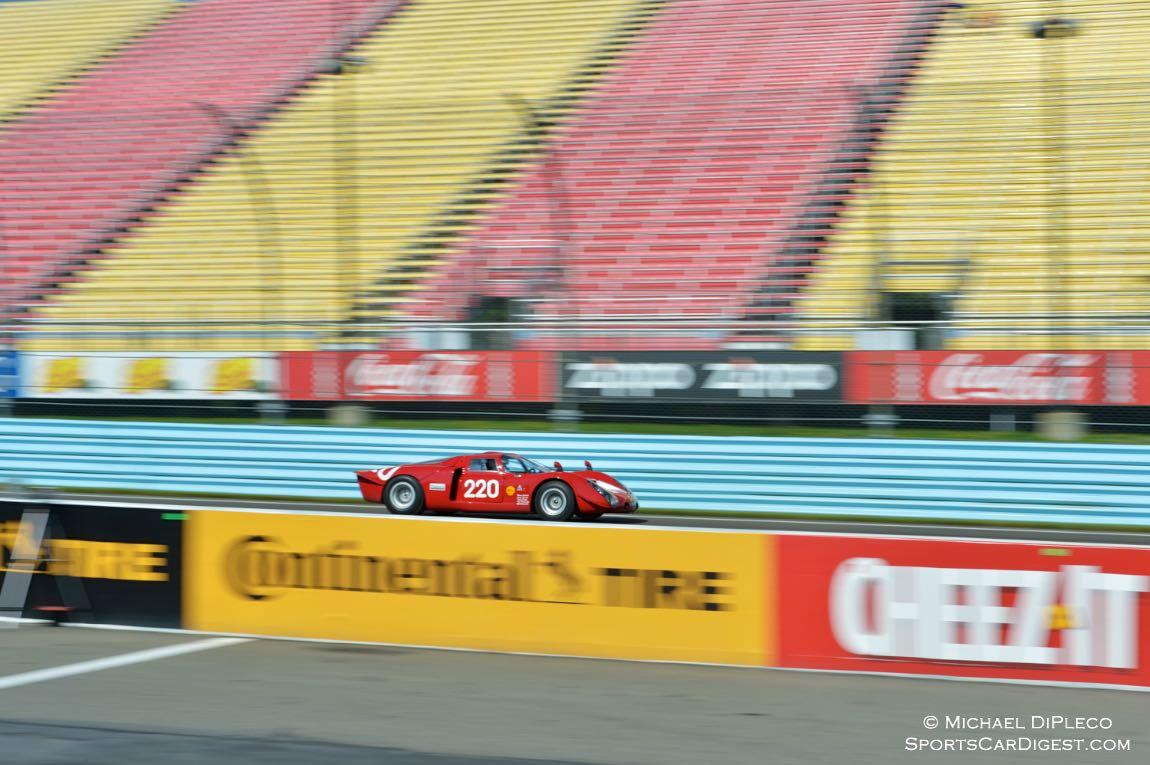 1968 Alfa Romeo Tipo 33/2 Daytona Coupe- Jay Lliohan.