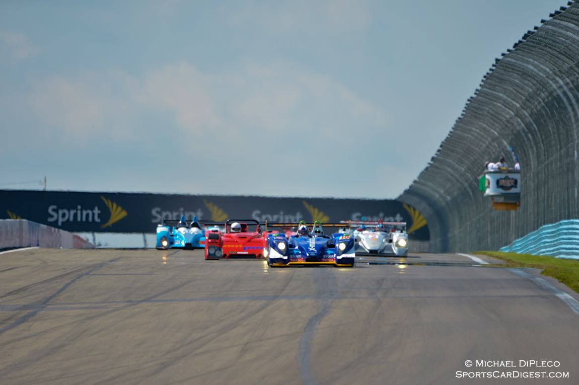 Start of the Historic GT/GTP/ Enduro.
