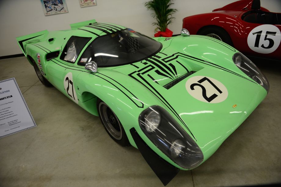 1969 Lola T70 Mk3B FIA Sports Prototype, Chevrolet 350 cubic inch Mechanical fuel injected producing app. 650hp. Completed in the 1970 12 Hours of Sebring.