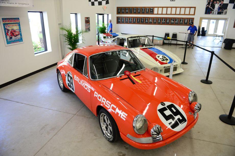 1970 Porsche 911S 1972 IMSA GT Champion, 2.5 liter Flat six cylinder producing app. 220 Hp.