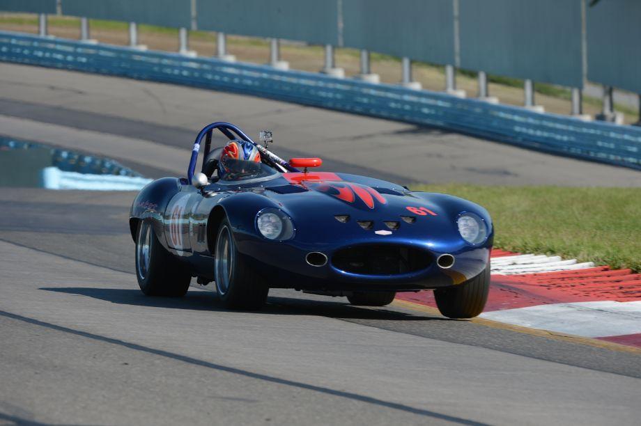 1961 Jaguar XK-E- Larry Ligas.