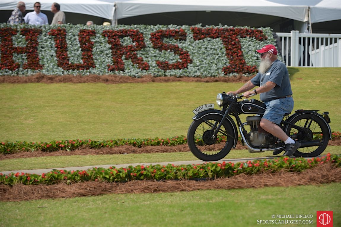 Pinehurst Award: 1937 BMW R-20, Jack Wells, Lake City, Fla.