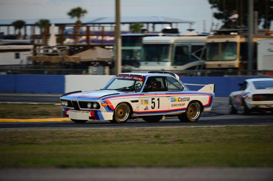 1972 BMW 3.0 CSL of Scott Hughes