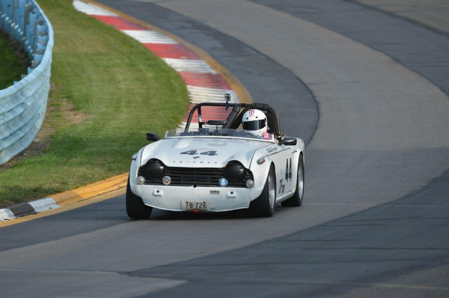 1967 Triumph TR4A.