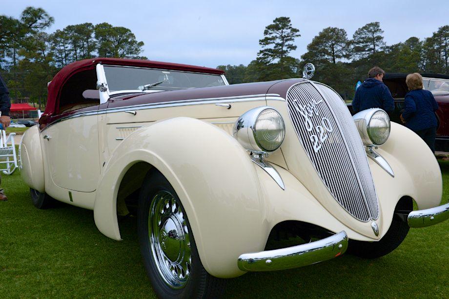 1938 Steyr 220 Glaser Roadster