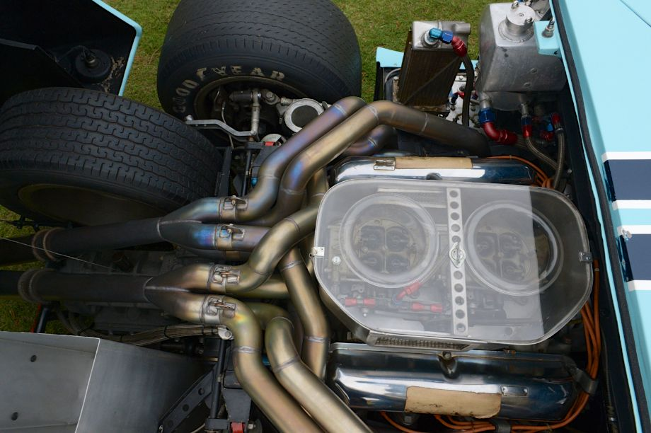 Engine of the 1967 Ford GT40 MkII