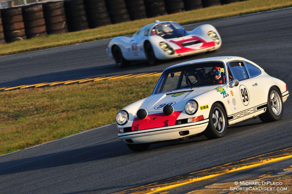 1968 Porsche 911.