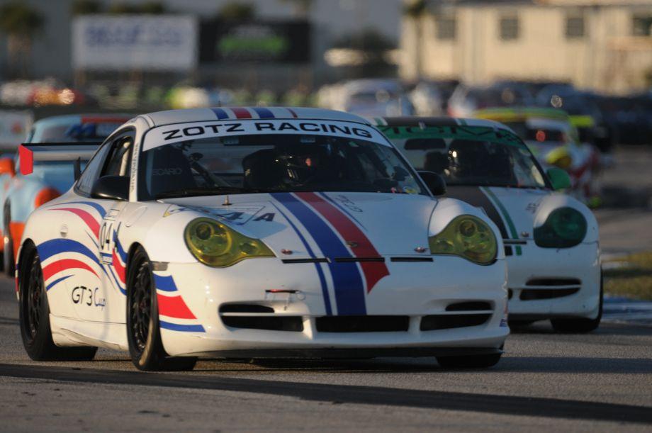 2004 Porsche 996 GT3 Cup.