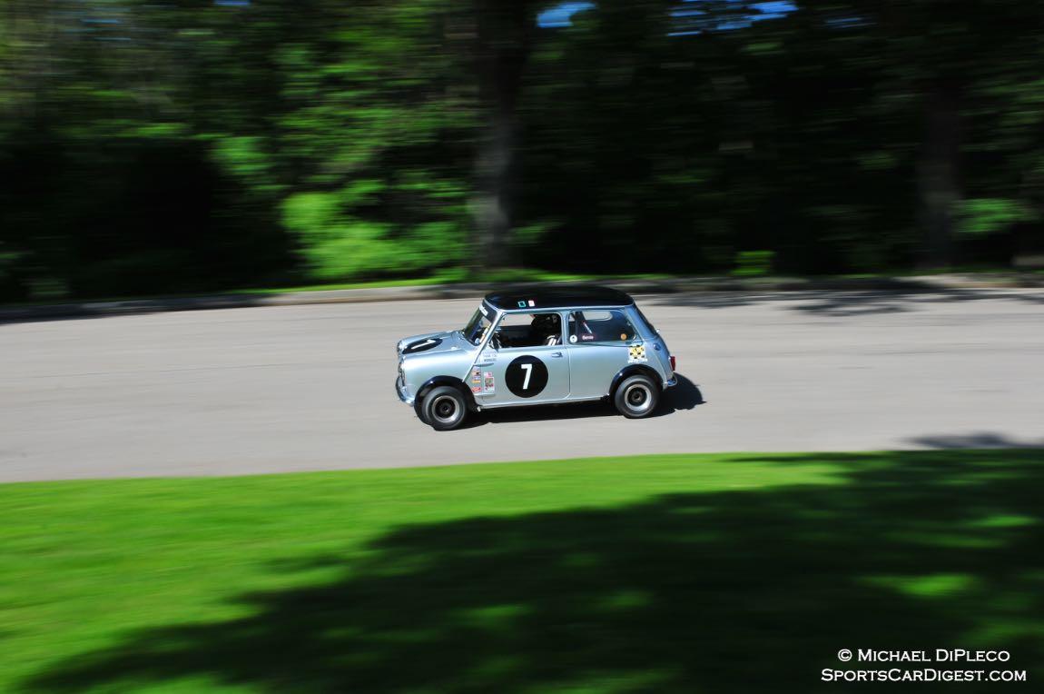 Ian Wisbon 1964 Austin Mini.