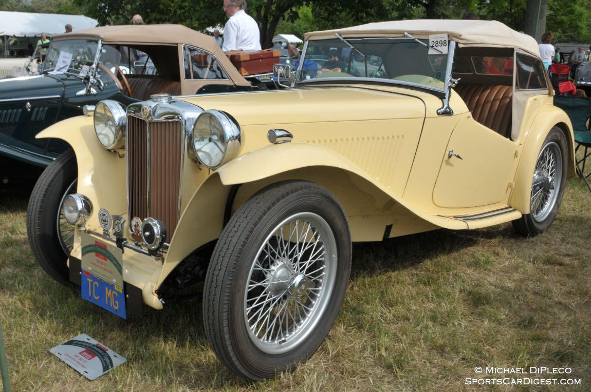 1947 MG TC.