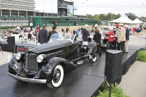 1936 Packard V12 Boattail Speedster