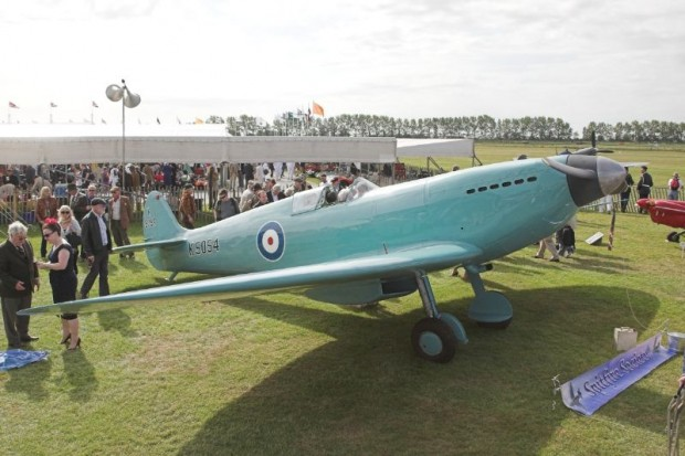 Supermarine K5054 tribute plane