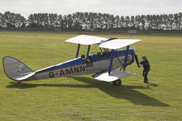 1944 De Havilland DH82 Tiger Moth airplane