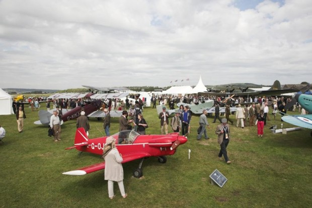 Goodwood Revival, Freddie March Spirit of Aviation gathering
