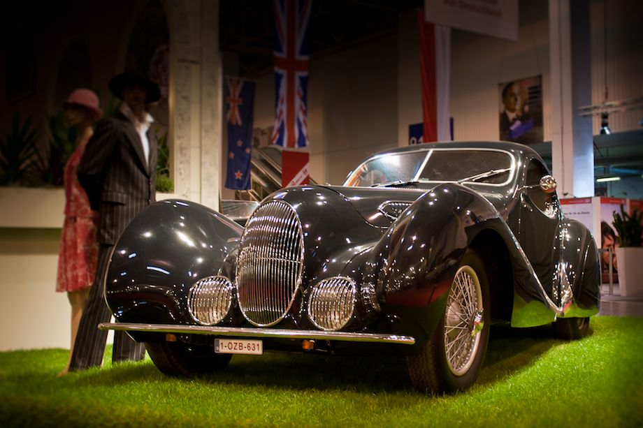 1937 Talbot-Lago T150C Figoni and Falaschi Teardrop Coupe