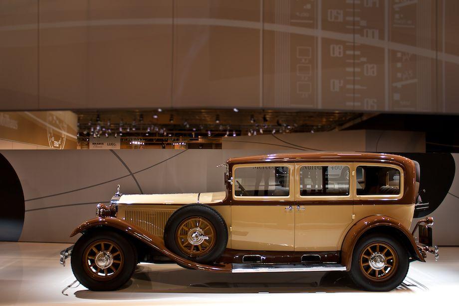 1928 Mercedes-Benz Nurburg 460 Pullman Limousine 18/80 hp