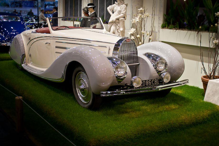 1936 Bugatti Type 57 C Gangloff Cabriolet
