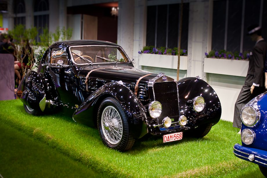 1937 Delage D6-70 Figoni and Falaschi Competition Coupe