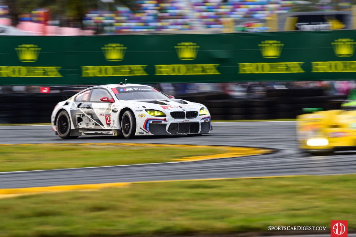 BMW M6 GTLM at 2016 Rolex 24 Hours of Daytona