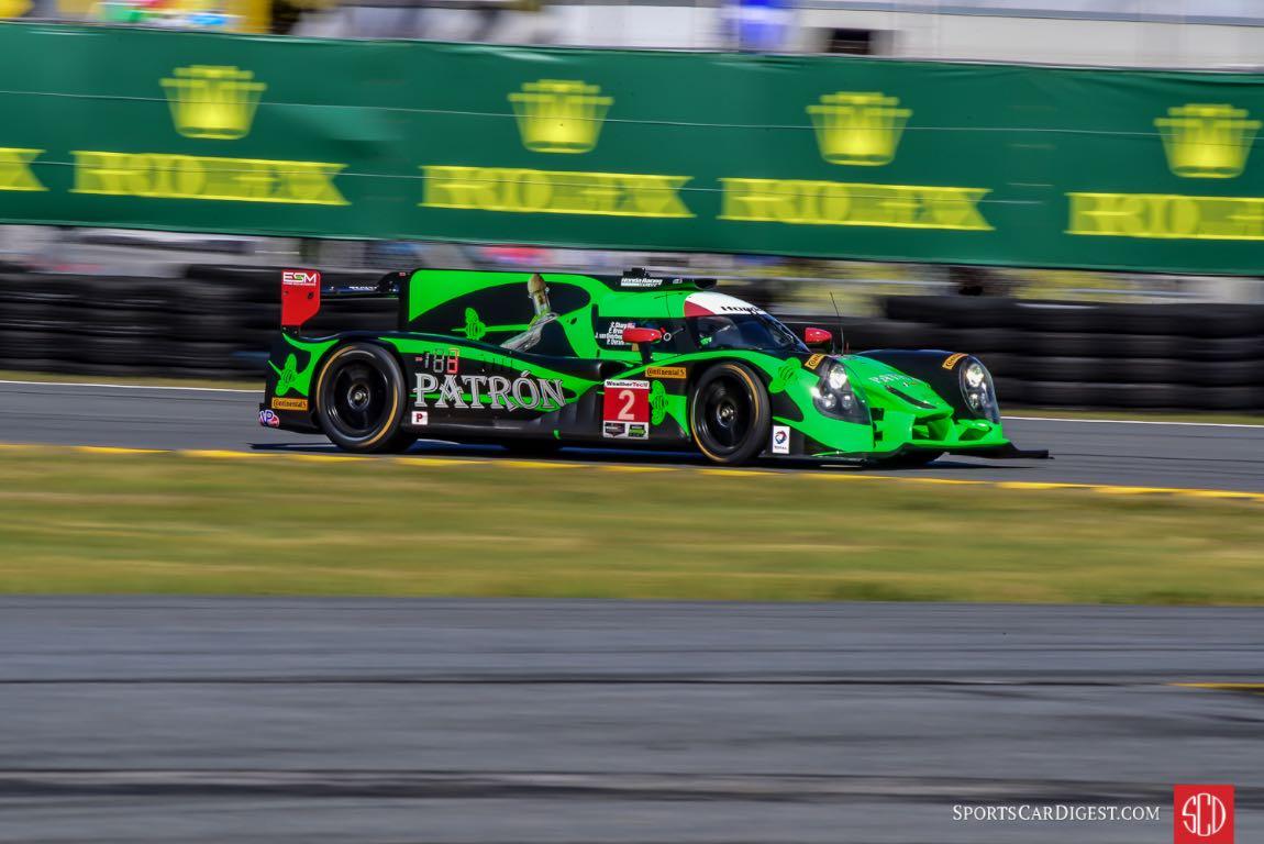 Overall race winning Honda Ligier JS P2