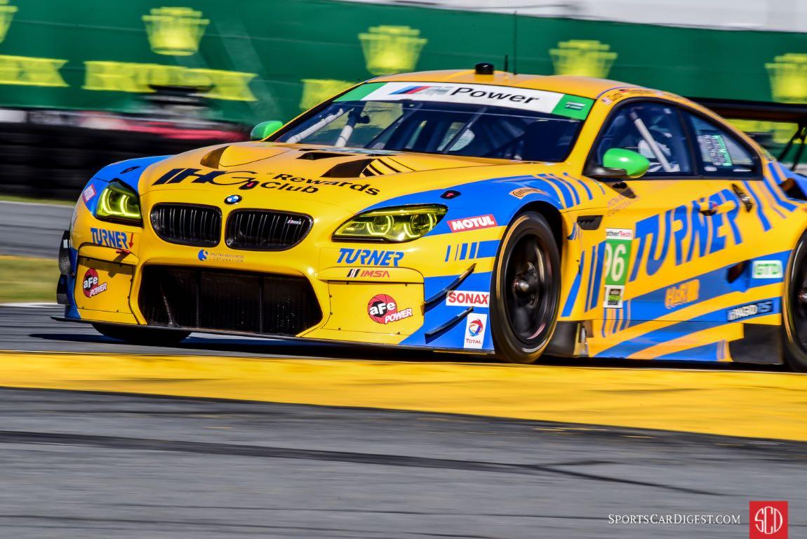 BMW M6 GT3 at 2016 Rolex 24 Hours of Daytona
