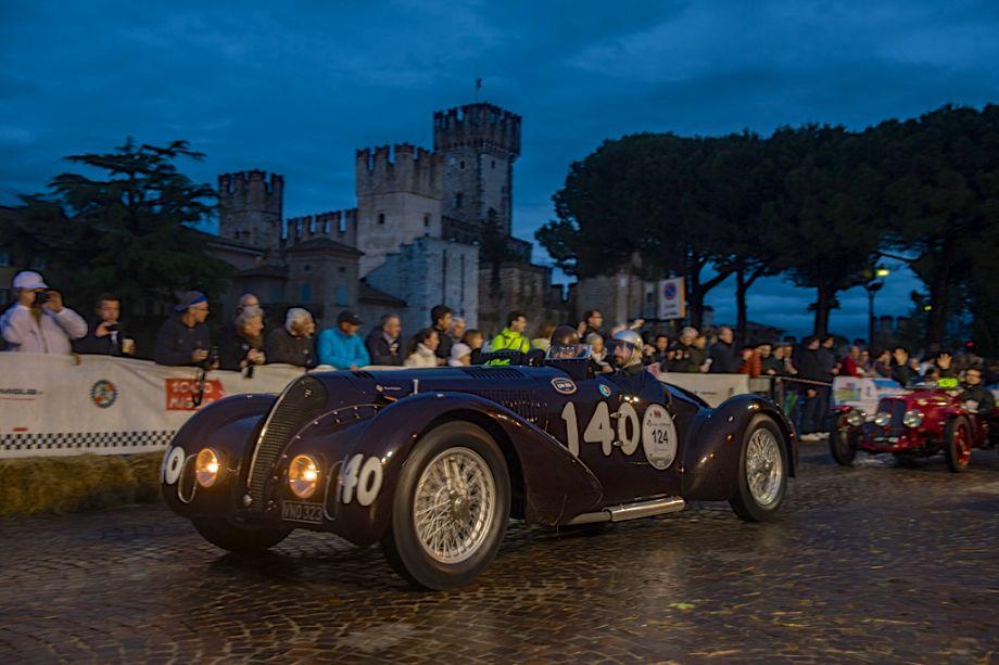 1938 Alfa Romeo 6C 2300B Mille Miglia Spider Touring