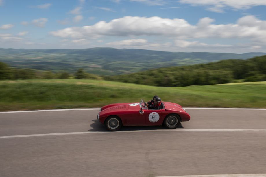 1953 Osca MT4 2AD 1450 at the Mille Miglia (Dirk de Jager)