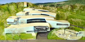 Proposed design by Miquel Abarcas, New School of Architecture and Design