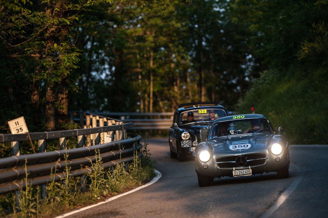 1955 Mercedes-Benz 300 SL W 198 and 1955 Mercedes Benz 220 A