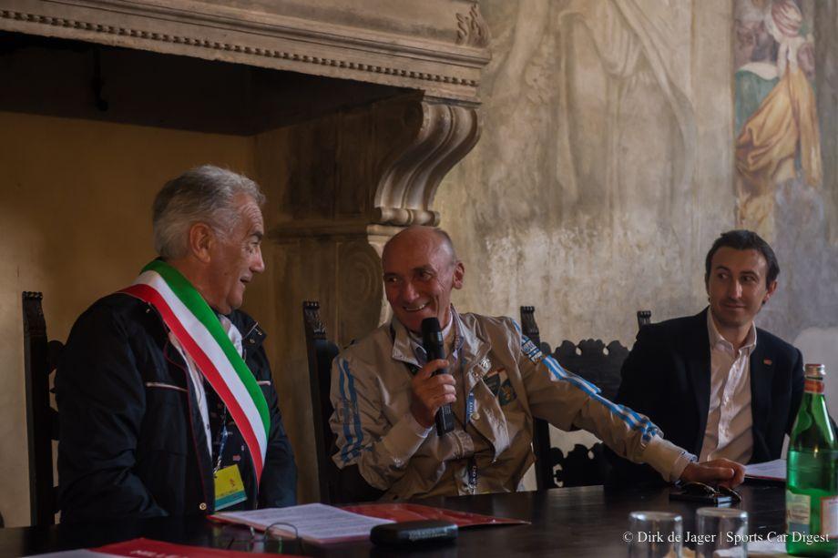 Director of Mille Miglia Roberto Gaburri