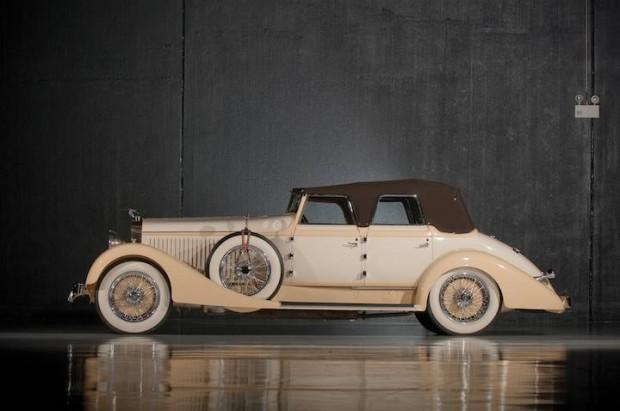 1928 Hispano-Suiza H6C Convertible Sedan