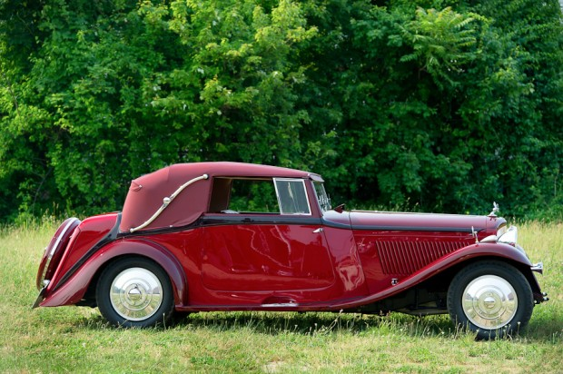 Bentley 3.5 Liter Drophead Coupe, Body by Park Ward picture