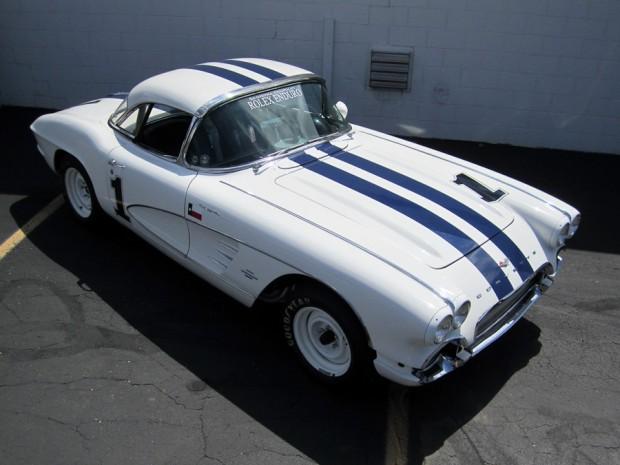 1961 Chevrolet Corvette FI Convertible Race Car