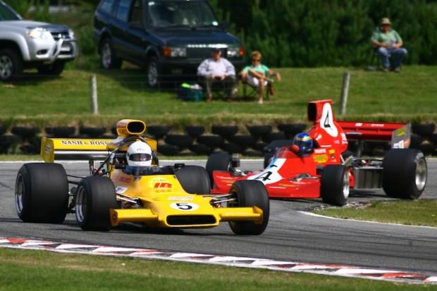 Race 3 runner-up Steve Ross - McRae GM1