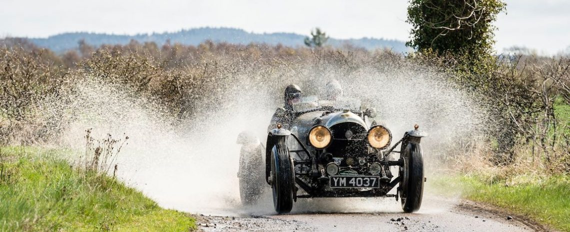 1926 Bentley Super Sports makes a splash
