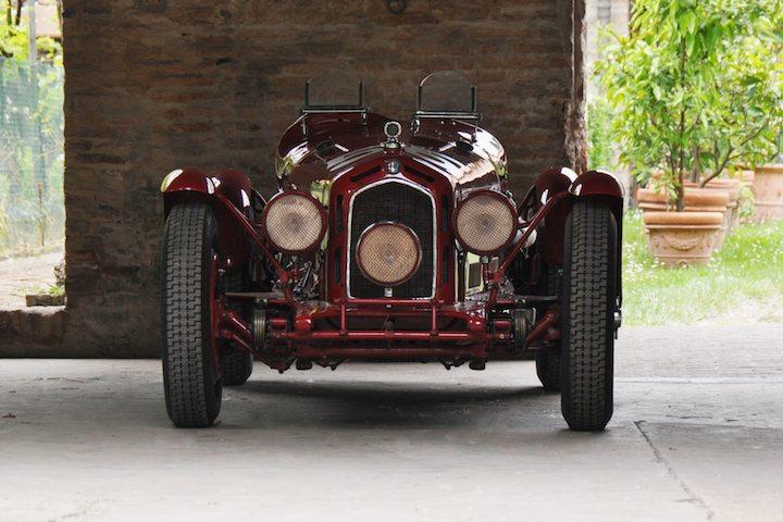 Alfa Romeo 8C 2300 Nuvolari Targa Florio