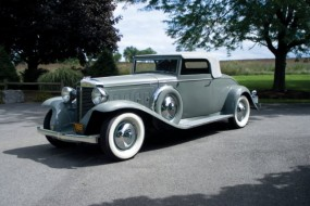 1931 Marmon Sixteen Convertible Coupe sold for $517,000