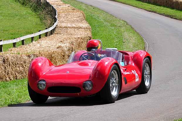 Maserati T61 Birdcage 1959 Alan Minshaw