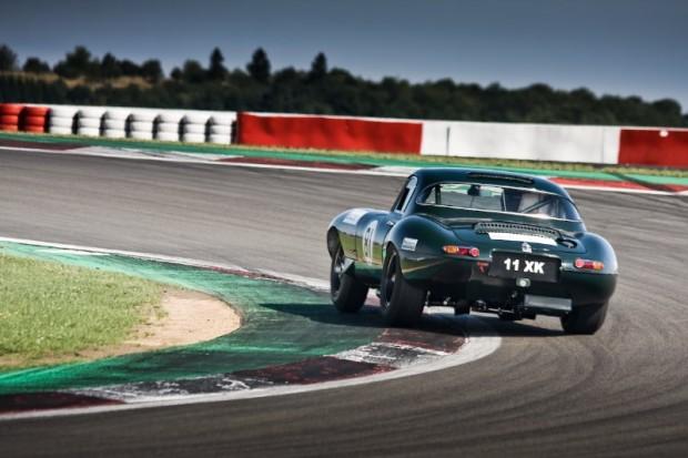 Jaguar E-Type at Oldtimer Grand Prix