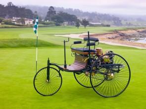 1886 Benz 3-Wheel Patent Motor Wagon