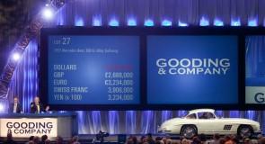 1955 Mercedes-Benz 300SL Alloy Gullwing
