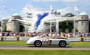 Mercedes-Benz 300 SLR driven by Sir Stirling Moss